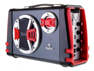 Parlante Bluetooth Inalambrico Portatil Fm Usb Karaoke 30w