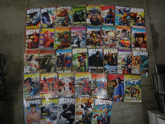 Revista Wizard Brasil Panini Lote Com 35 Edições