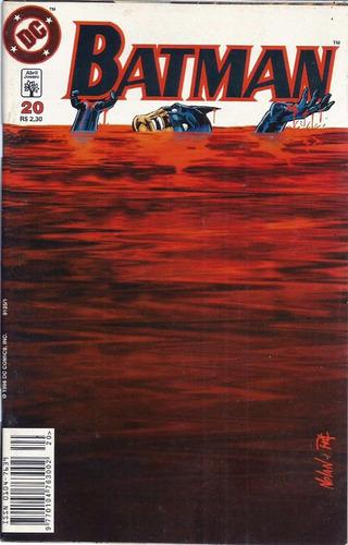 Batman 20 Dc Comics Abril Jovem 1998