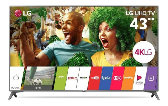Smart Tv Led 43 Ultra Hd 4k Lg 43uj6565 Wi-fi Hdmi Usb