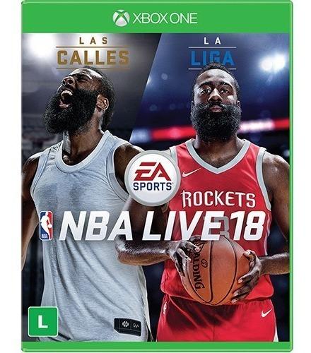 Nba Live 18 (mídia Física) - Xbox One