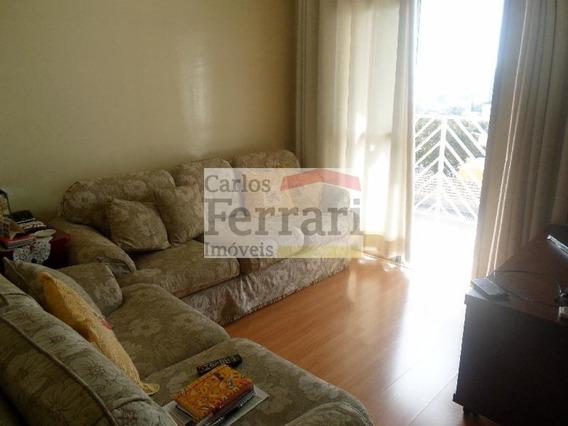 Lindo Apartamento Na Vila Gustavo Com 3 Dormitórios, Sendo 1 Suíte 2 Vagas - Cf18239