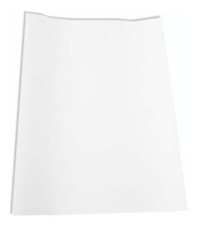 Papel Almaço Sem Pauta Branco Liso 20x27,5 Com 100 Folhas