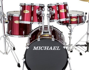 Bateria Michael Classic Pro Dm842 Chr Bumbo 20