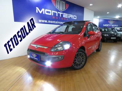 Fiat Punto 1.8 Sporting Flex Top De Linha C/ Teto 74.400 Km
