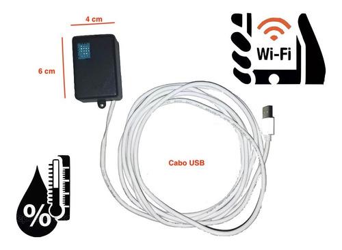Termometro Snmp - Wifi - Sensor Temperatura E Umidade