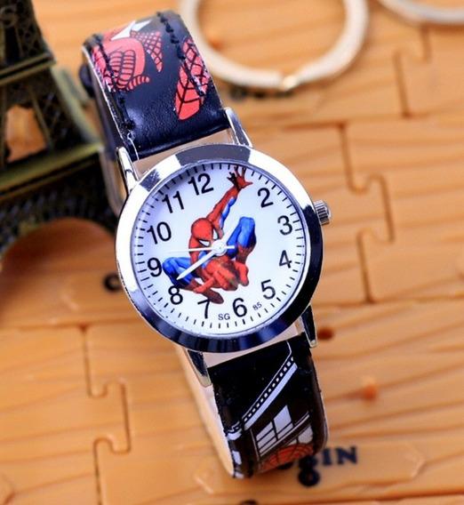 Relógio Homem Aranha Rg010c Pulseira Preto Promoção!!!