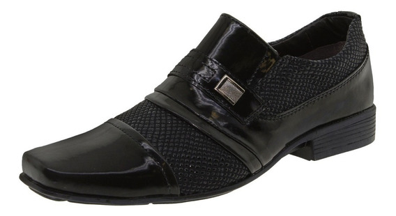 Sapato Masculino Social Preto Street Man - 462
