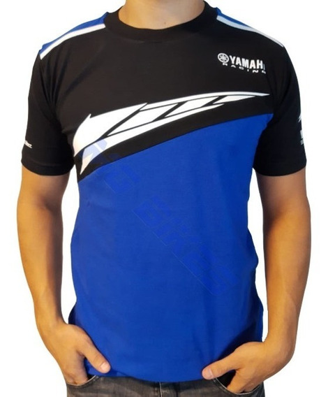 Remera Yamaha Racing Oficial Team Super Bikes Sbk Mg Bikes