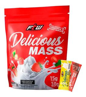 Hipercalorico Delicious Mass 3kg - Ftw