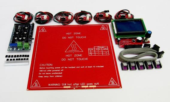 Kit Completo Impressora 3d Ramps 1.6 Sem O Arduino