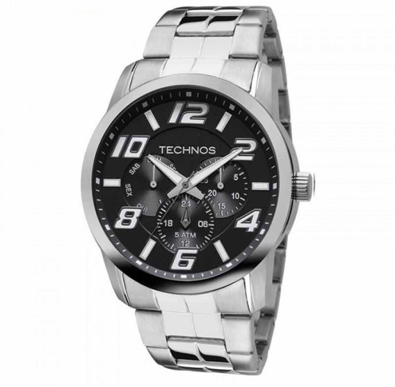 Relógio Technos Masculino Prateado 6p29aft/1p