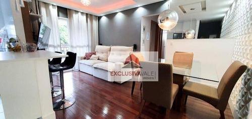 Imagem 1 de 15 de Apartamento Com 2 Dormitórios À Venda, 65 M² Por R$ 370.000,00 - Parque Industrial - São José Dos Campos/sp - Ap3008