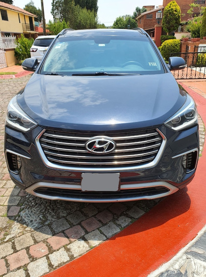 Hyundai Santa Fe Limited Tech 2018 7 Pasajeros Impecable