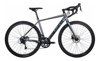 Bicicleta Ciclocross Colner Discover Gris Sora 3000 18 Vel