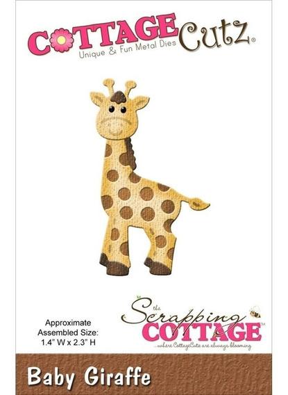 Troqueladora Jirafa Bebé Cottage Cutz