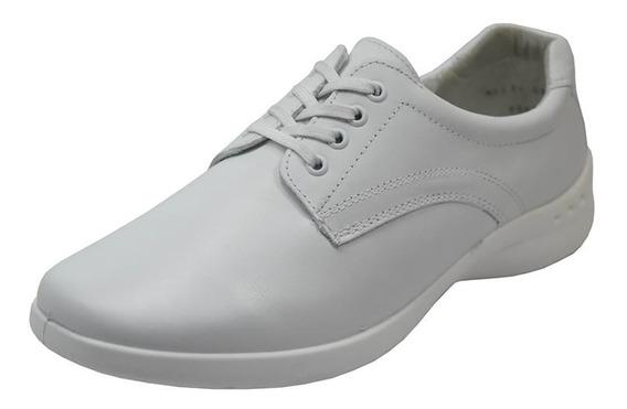 Zapatos Dama Estilo Casual Agujetas Comodo 48304 Flexi