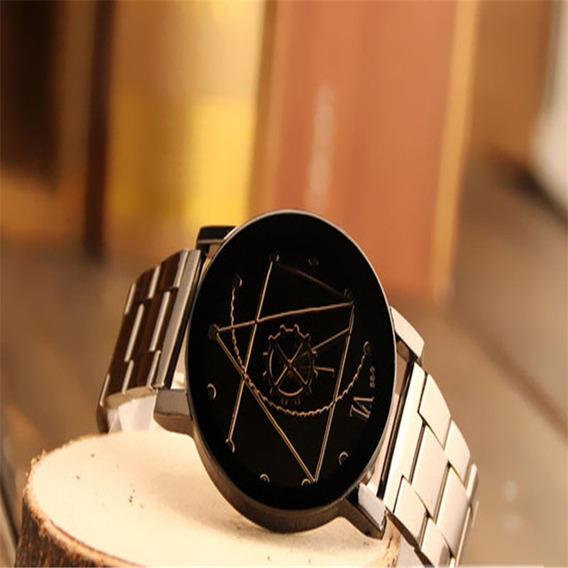 Relógio Masculino Luxo Quartzo