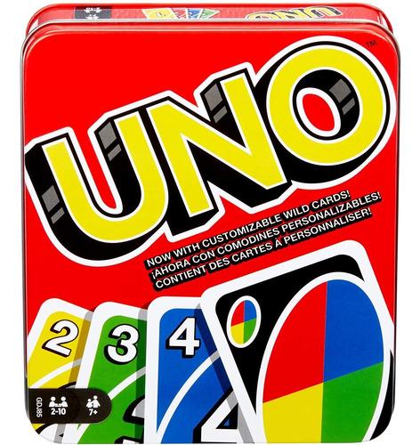 Imagen 1 de 8 de Mattel Games  Classic (caja De Hojalata), Una Lata, Null