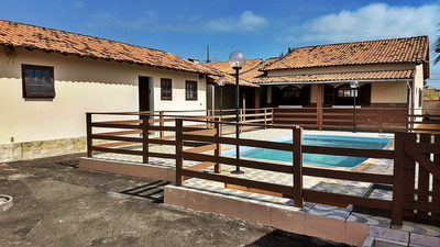 Casa Itaipuaçu 3 Quartos, Piscina, Sauna, Churrasqueira- 409