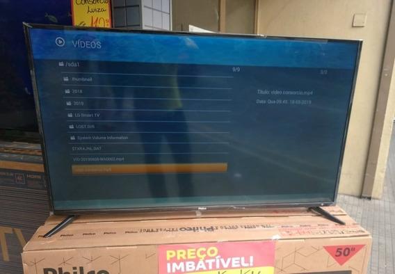 Smart Tv 4k 50 Polegadas Philips