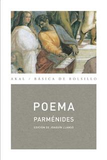 Poemas, Parménides, Akal #