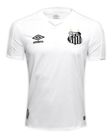 Camiseta Umbro Santos 1 2019 Masculina - Original