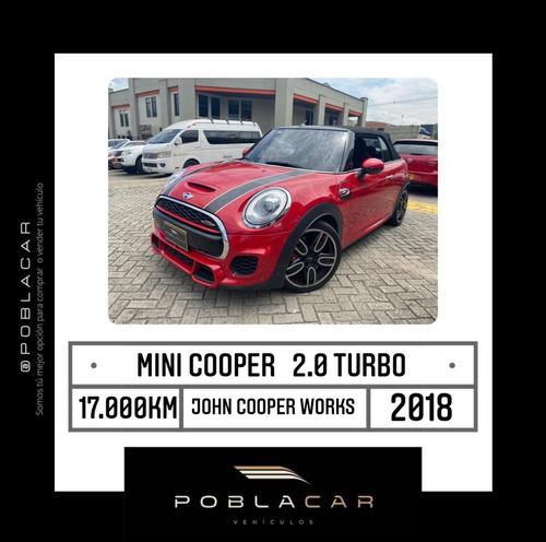 Mini Cooper 2.0 Turbo S Cabriolet John Cooper Works