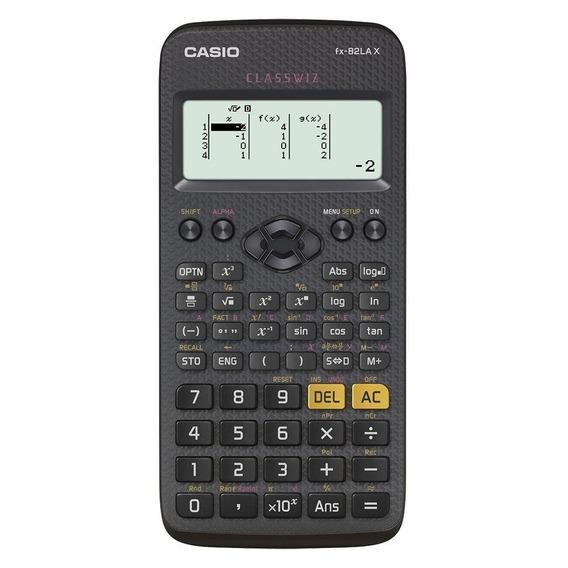Calculadora Científica Fx-82la X-bk Casio