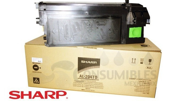 Recarga De Toner Sharp Al 2021/2031/2041/2051 Con Chip
