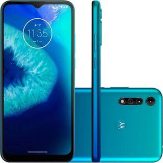 Celular Motorola Moto G8 Power Lite Azul Claro 64gb Tela 6.5