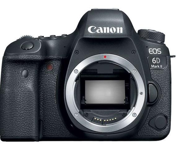 Canon Eos 6d Mark Ii Corpo - 26 Mp