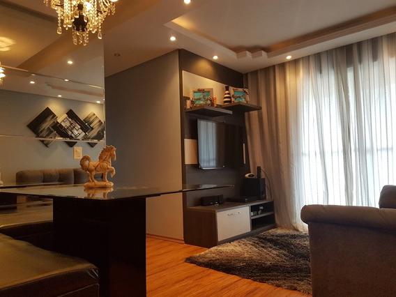 Maravilhoso Apartamento Mobiliado 3 Dormitórios