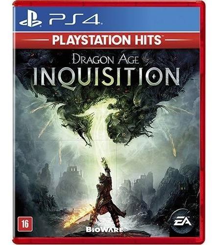 Jogo Ps4 Dragon Age Inquisition Playstation Hits Legendado (lacrado) Mídia Física