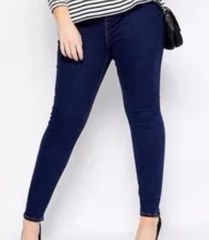 Pantalon Jeans Elaztizado Mujer Alto Talles Grandes Y Chicos 36 Al 56 Chupin Directo Fabricante