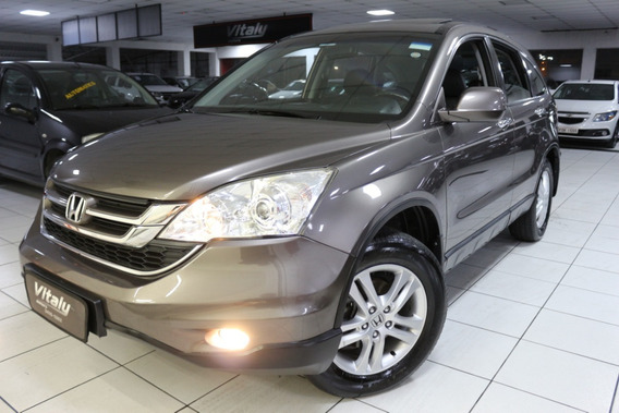 Honda Cr-v Exl 2.0 Aut 4x4 Teto Zerada 2011 !!!!!!