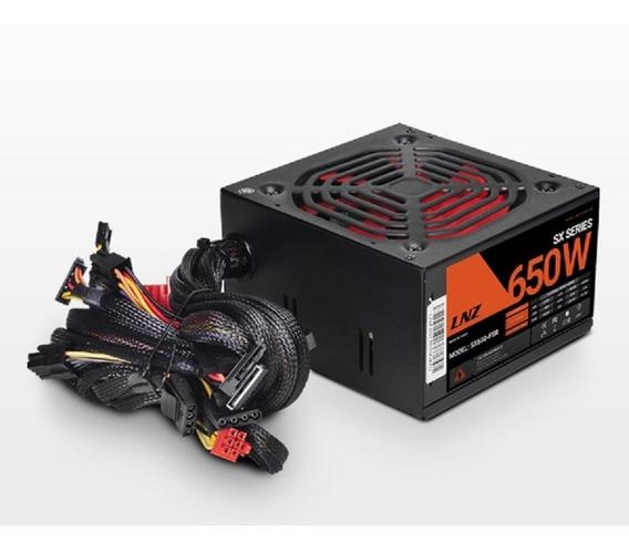 Fuente Lnz 650w Red Cooler 120 Floppy 5 Preteccion Atx Silent Fan Zx Series 1 Gtia