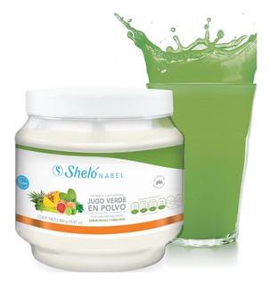 Jugo Verde En Polvo Shelo Sabor Frutas Y Verduras /sa