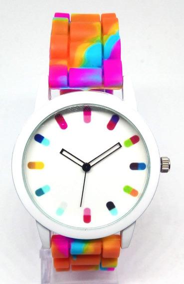 Relógio Infantil Feminino Colors Lova