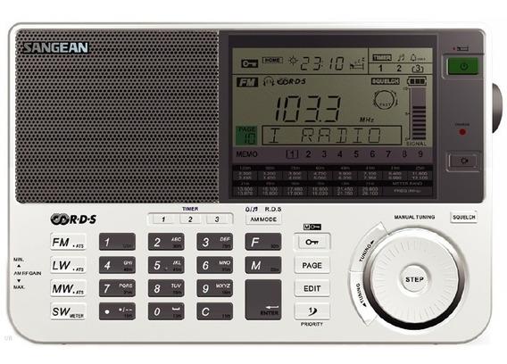 Rádio Receptor Sangean Ats-909x Am Fm Lw Sw Stéreo Auto Scan