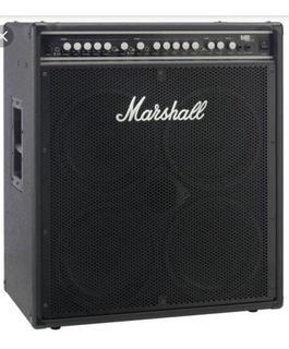 Amplificador De Bajo Marshallmb4410 450w 4x10 - 450 Verdes