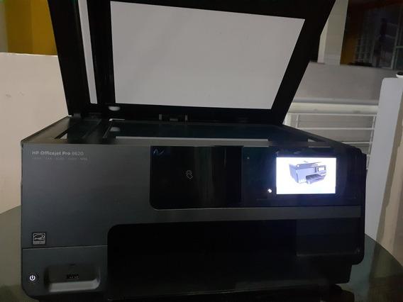 Impressora Multi Hp Officejet Pro 8620c/kit Completo 4 Color