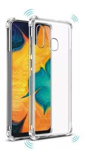 Capa Anti Impacto Samsung Galaxy A20 A30 + Película De Vidro