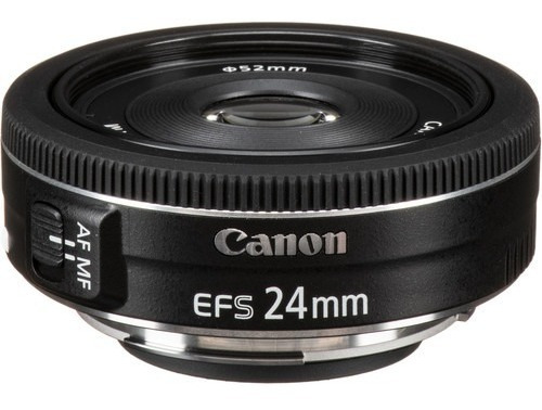Lente Canon Ef-s 24mm F/2.8 Stm, Lacrada Na Caixa, Nf, Imed!