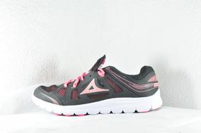 Tenis Para Correr De Mujer Pirma Running Negro Fiusha 0250