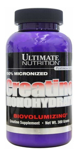 Creatine Monohydrate 300g - Ultimate Nutrition Creatina