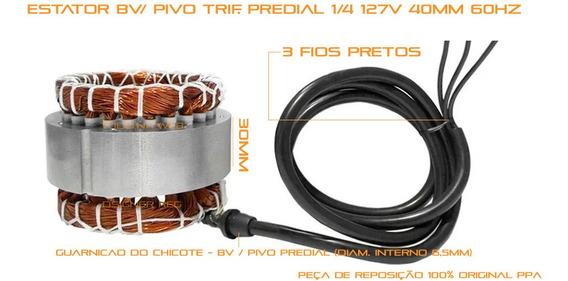 Bobina Motor Estator 1/4 Bv Pv Ppa Trif 110v 30m Triflex