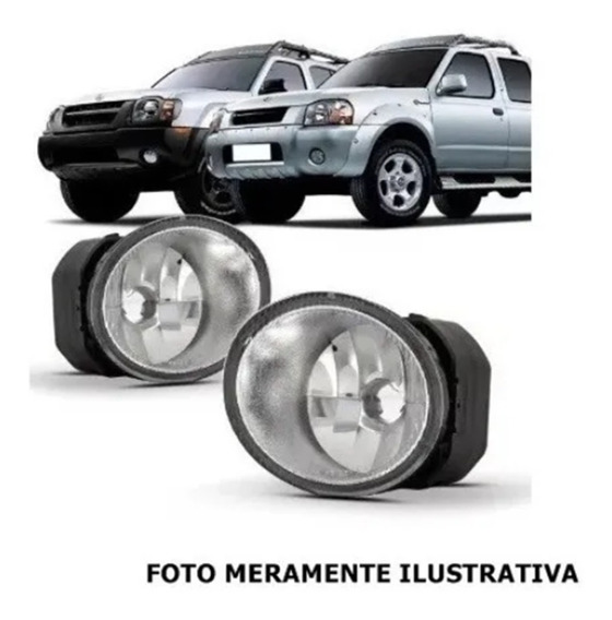 Par Farol Milha Nissan Frontier Xterra 2003 2004 2005 2006 2007