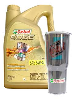 Aceite Sintetico Castrol Gasolina Sae 5w40+ Regalo