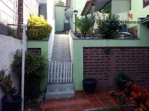 Sobrado Residencial À Venda, Santa Maria, Santo André. - So0424